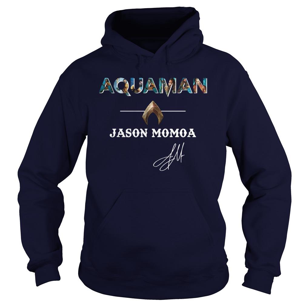 Aquaman Jason Momoa signature hoodie