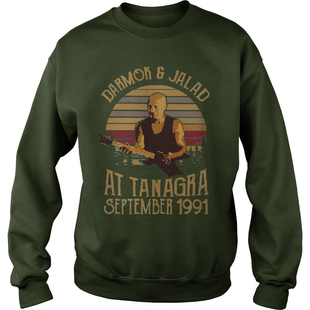 Darmok and jalad at tanagra september 1991 vintage sweatshirt