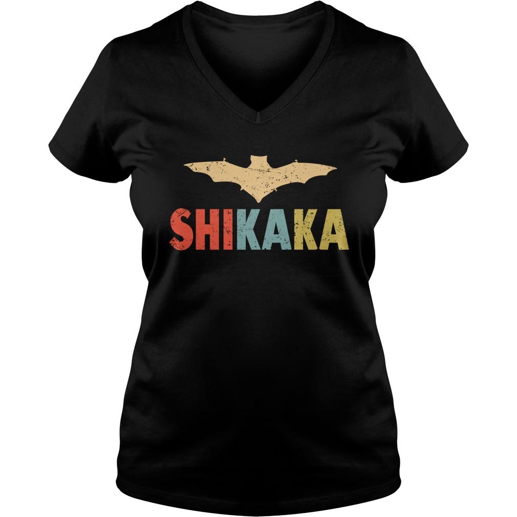 Bat shikaka lady v-neck