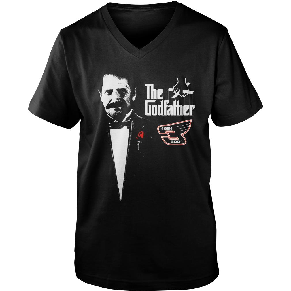 Dale Earnhardt The Godfather 1951 2001 guy v-neck