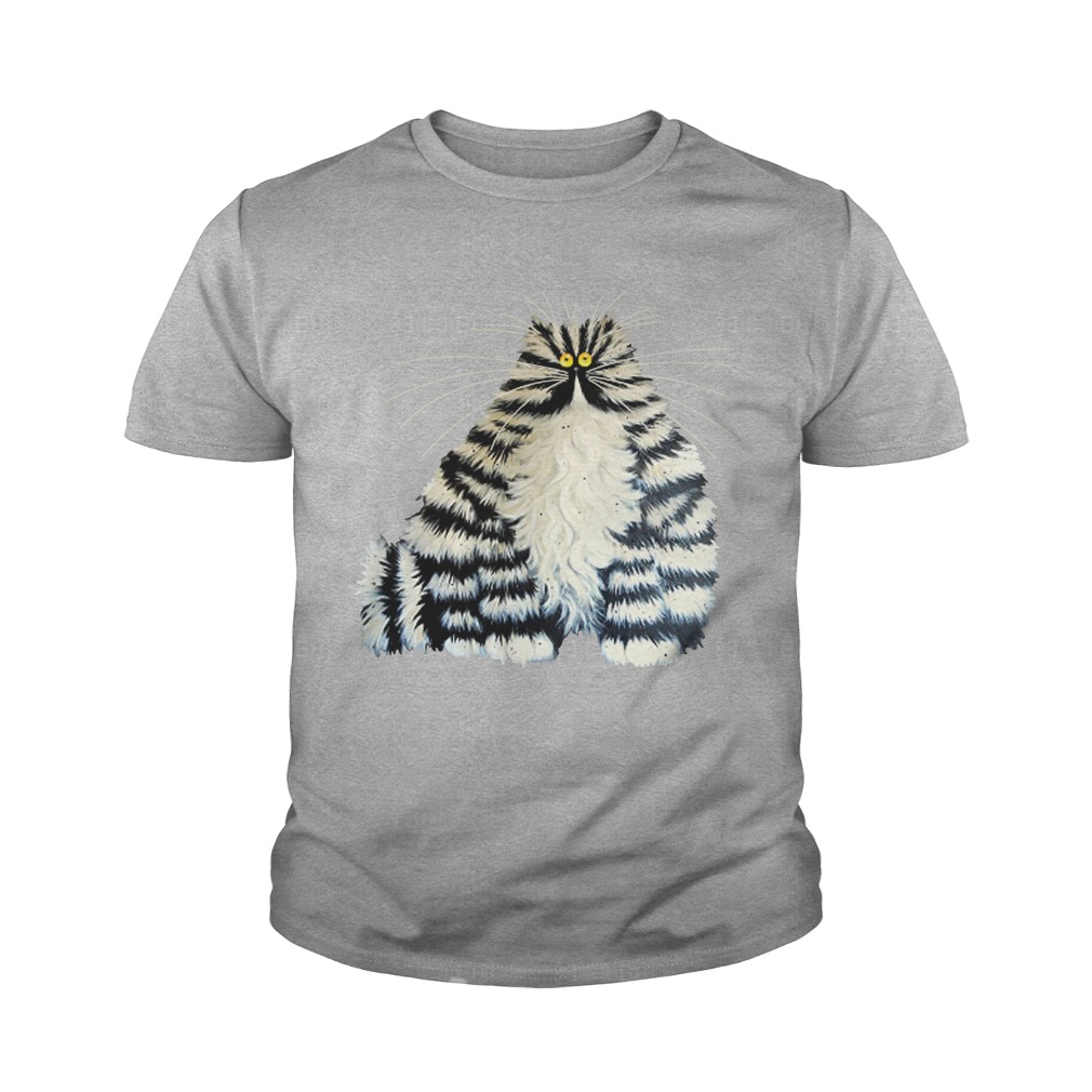 Diamond painting crazy cats youth tee