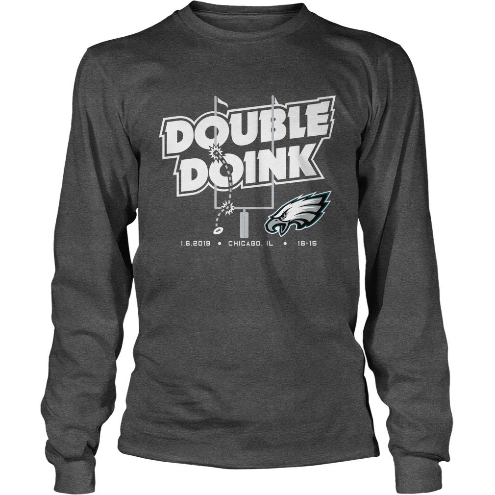 Double doink Philadelphia Eagles longsleeve tee