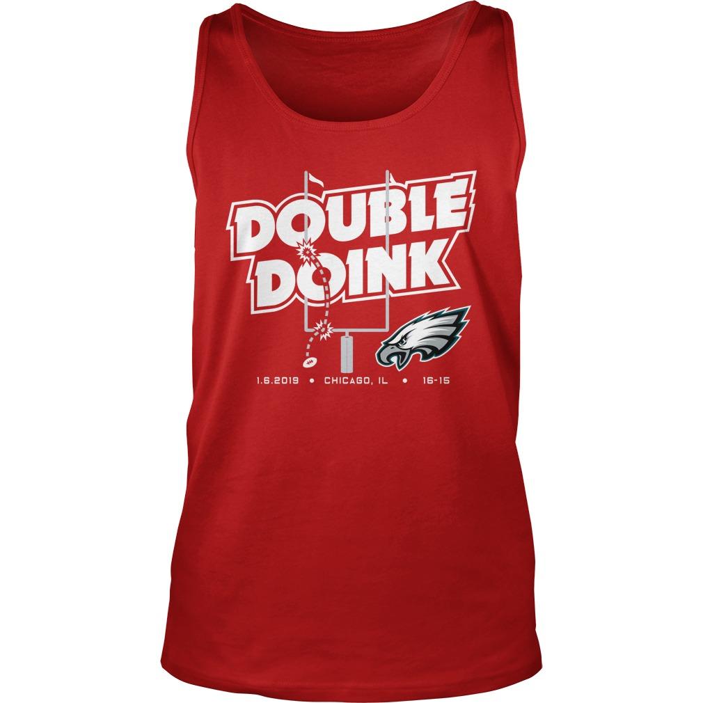 Double doink Philadelphia Eagles tank top