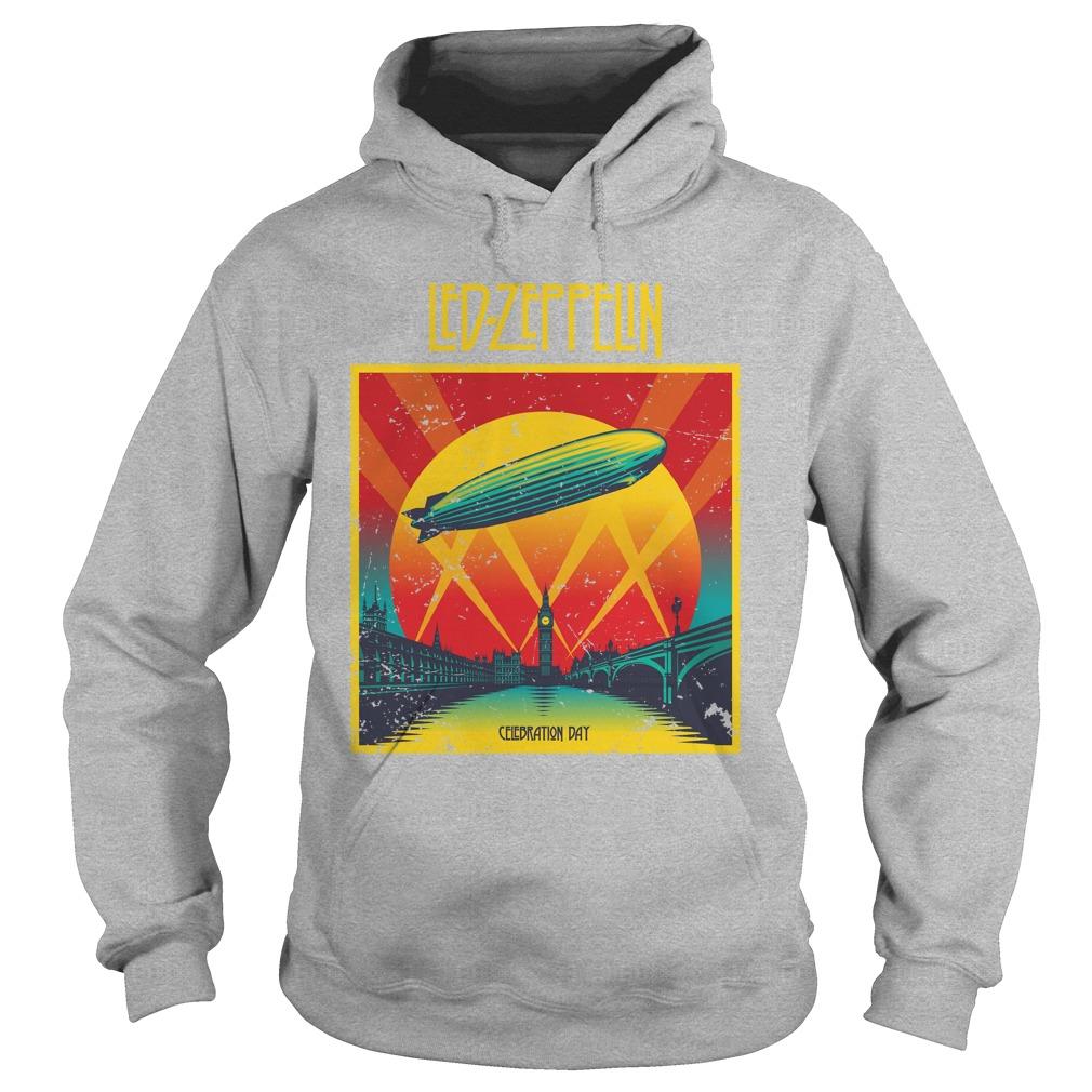 Led zeppelin celebration day hoodie