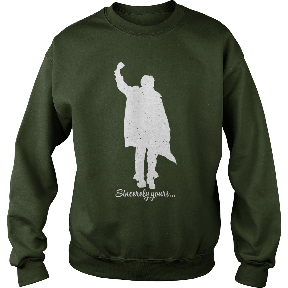 The Breakfast Club sincerely yours dear Mr Vernon we accept the fact sweatshirt