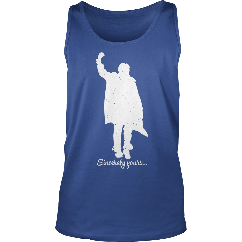 The Breakfast Club sincerely yours dear Mr Vernon we accept the fact tank top