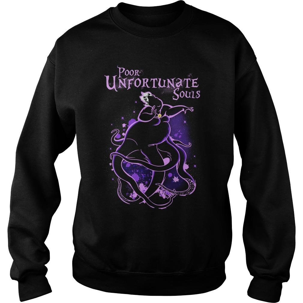 Ursula poor unfortunate souls sweatshirt