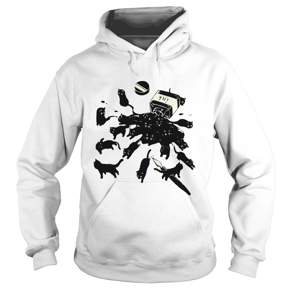 Black Cat Ink hoodie