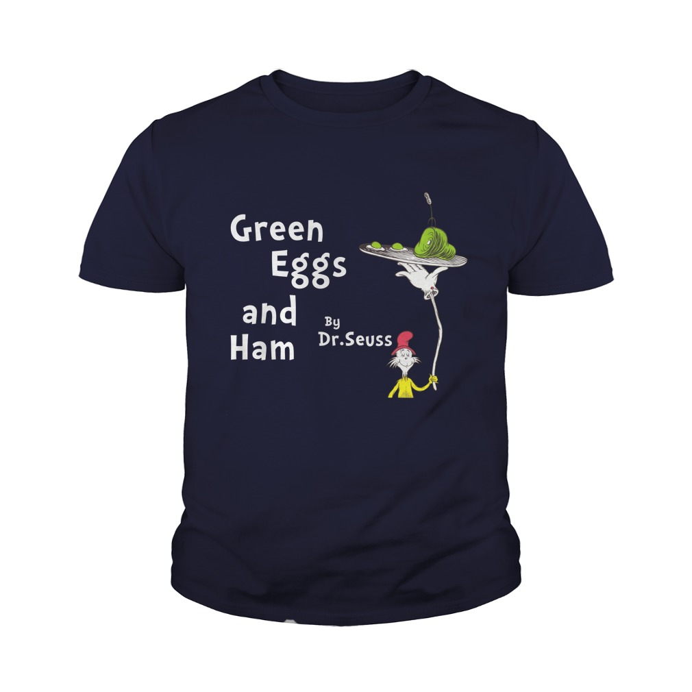 Dr seuss green eggs and ham youth tee