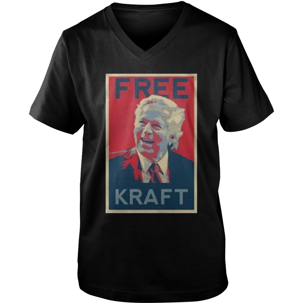 Free Kraft guy v-neck