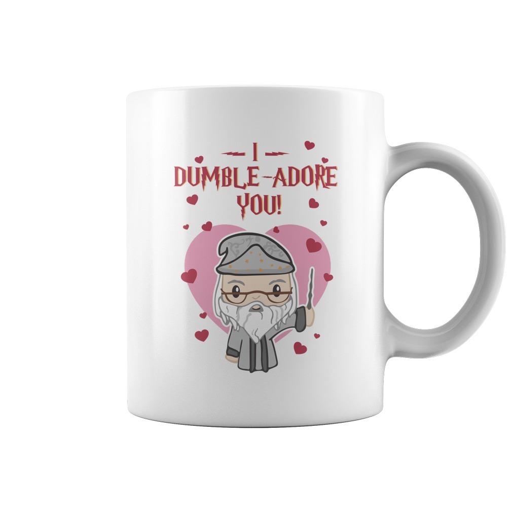 I dumble-adore you valentine mug