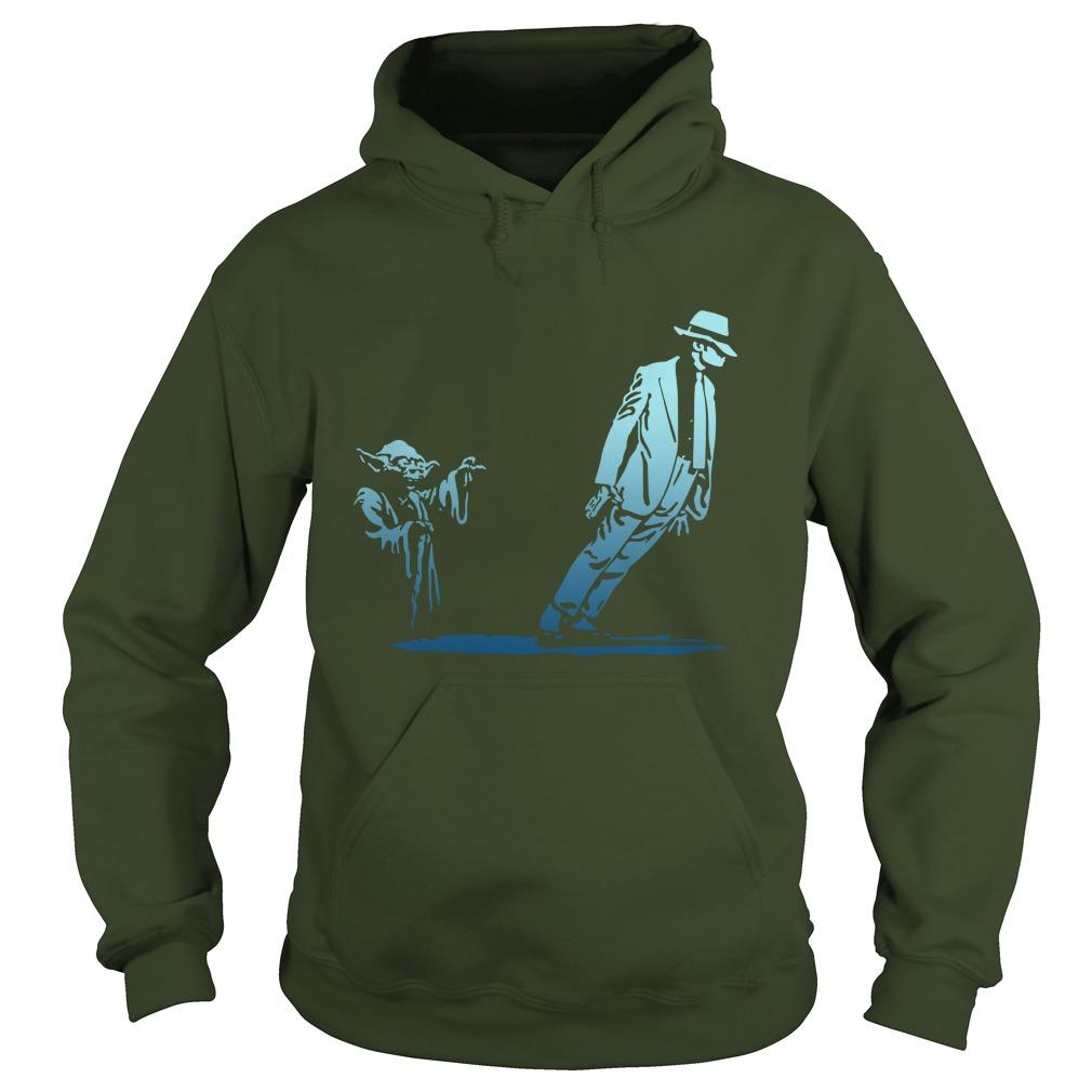 Yoda dance with michael jackson hoodie