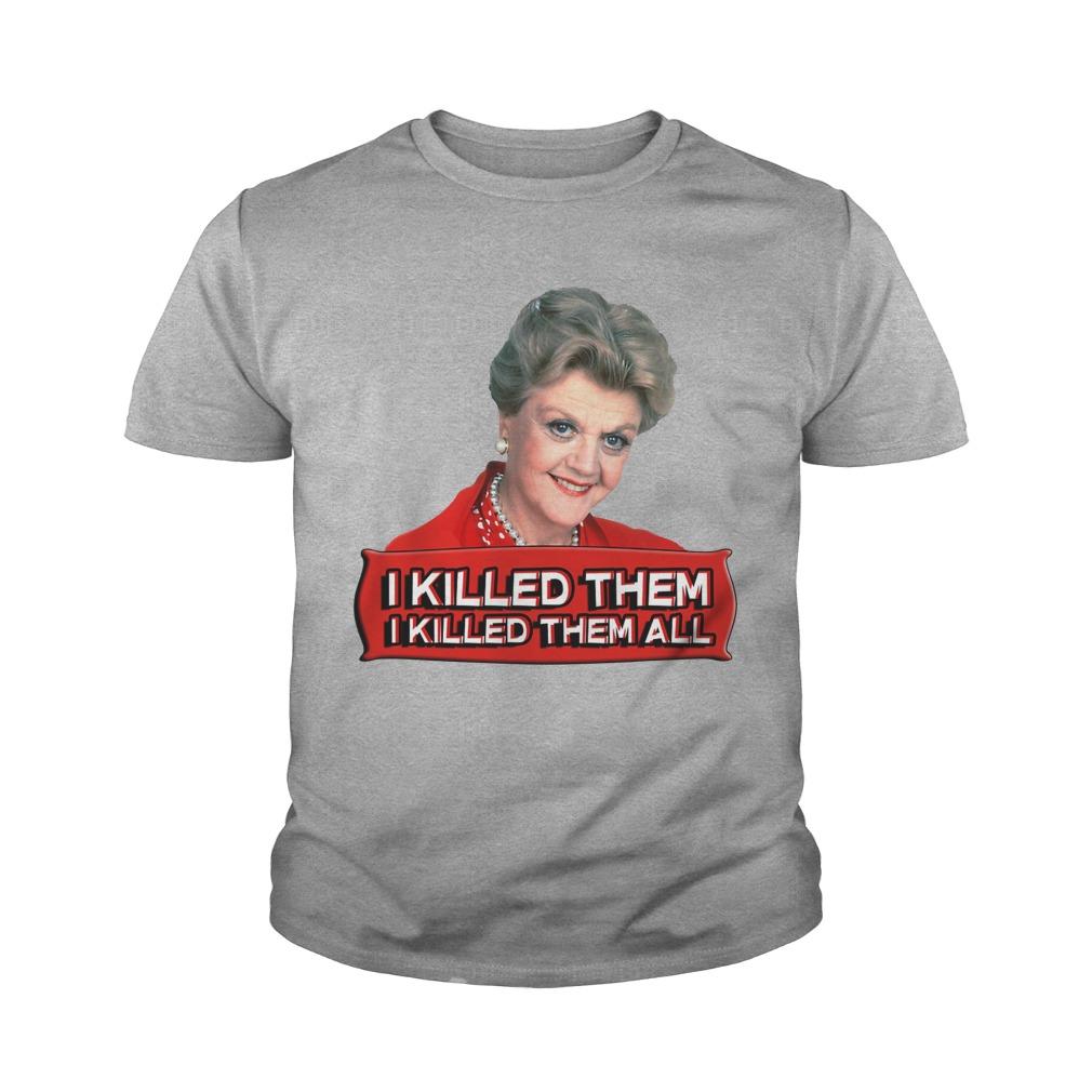 Angela Lansbury I killed them all youth tee