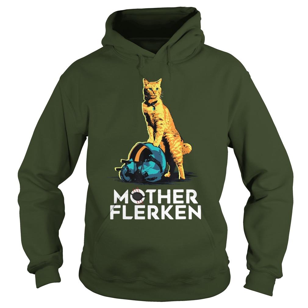 Captain Marvel Goose The Cat Mother Flerken hoodie