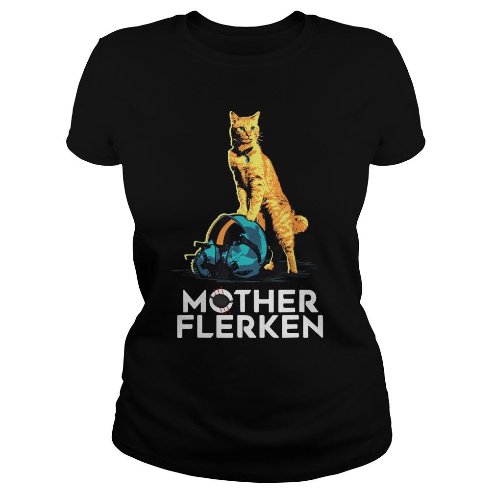 Captain Marvel Goose The Cat Mother Flerken lady shirt