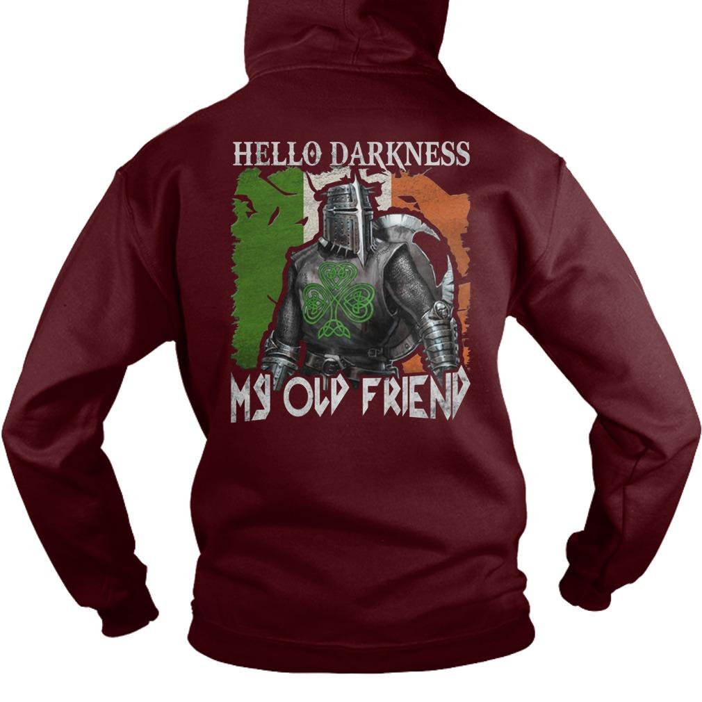 Knights Hospitaller hello darkness my old friend hoodie