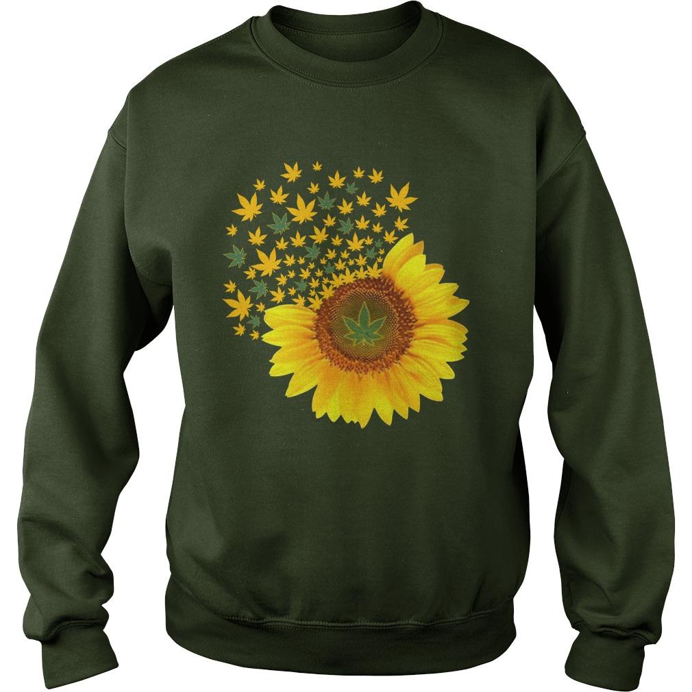 Sunflower weed smoke sweatshirt