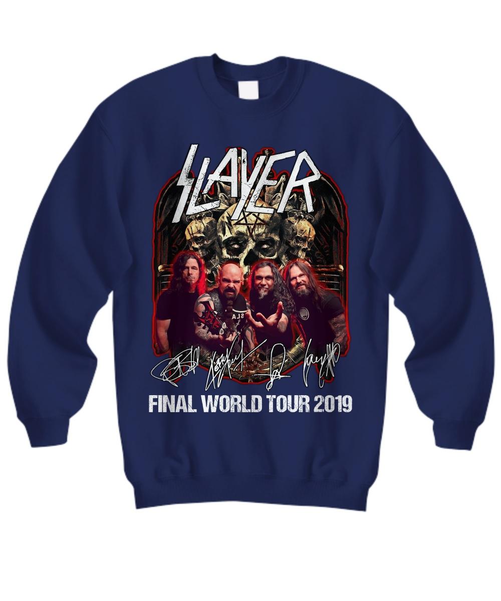Thrash Metal Slayer final world tour 2019 sweatshirt