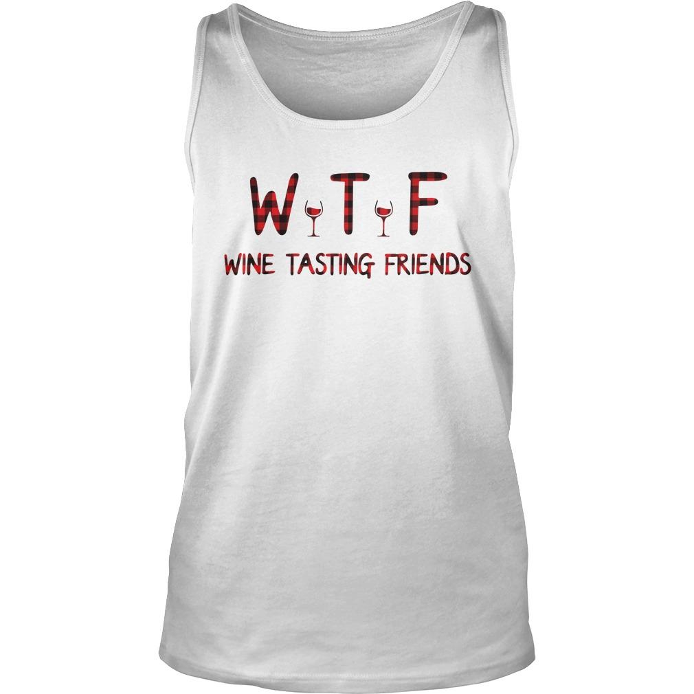 Wine tasting friends tank top