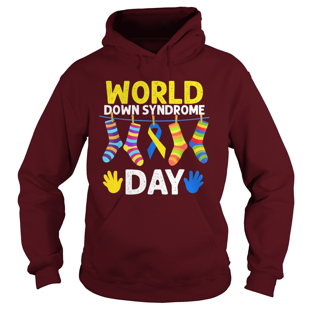 World down syndrome day hoodie