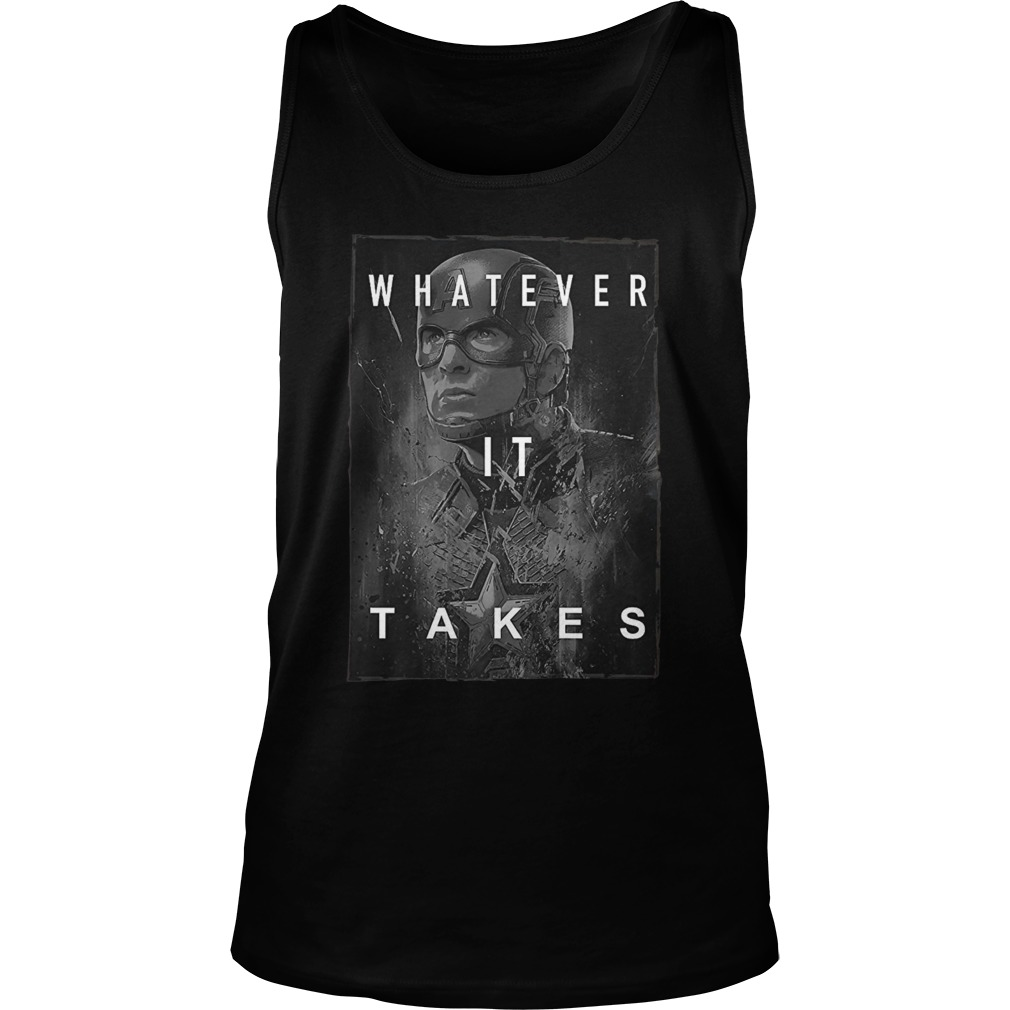 Captain america whatever it take tank top
