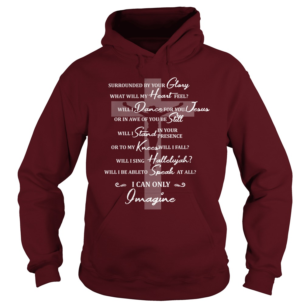 Jesus surrounded your glory what will my heart feel hoodie