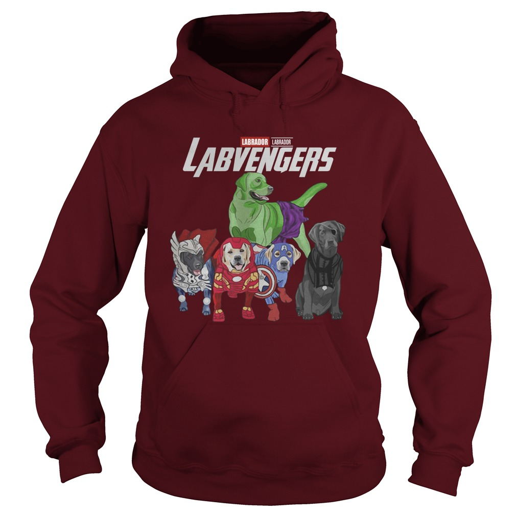 Labrador lavengers hoodie