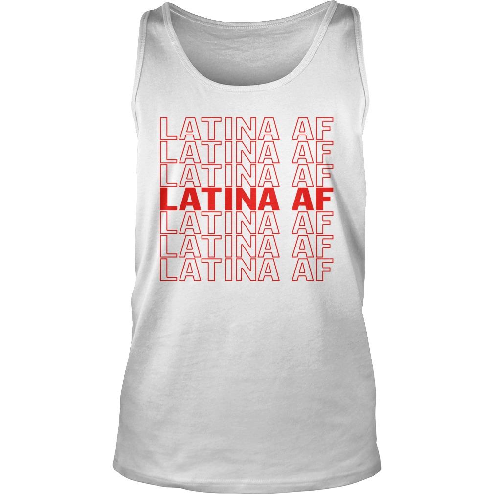 Latina af latina af tank top