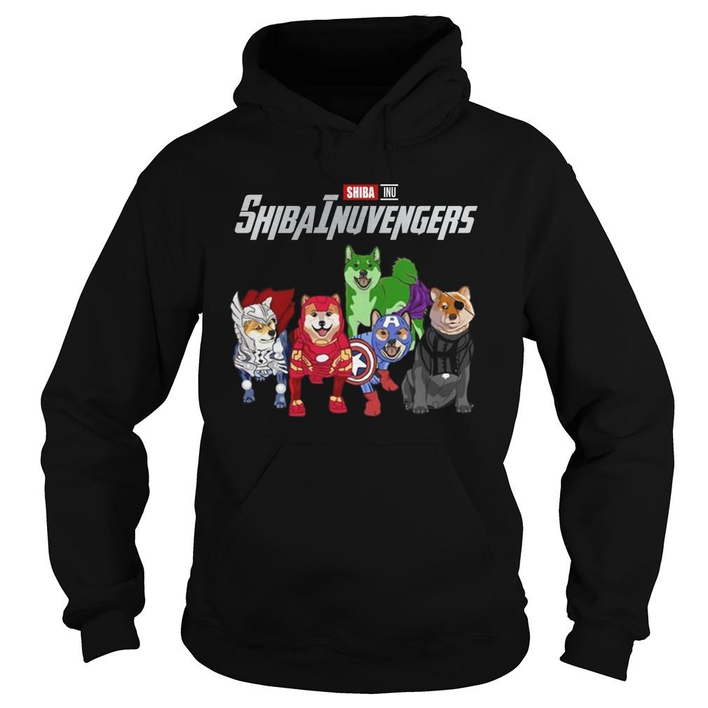 Shiba inu avenger hoodie