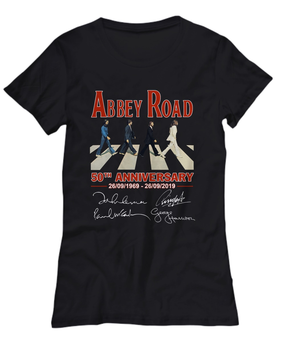 Lovely Abbey road 50th anniversary shirt