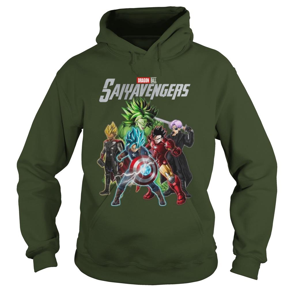Dragon ball saiy avengers hoodie