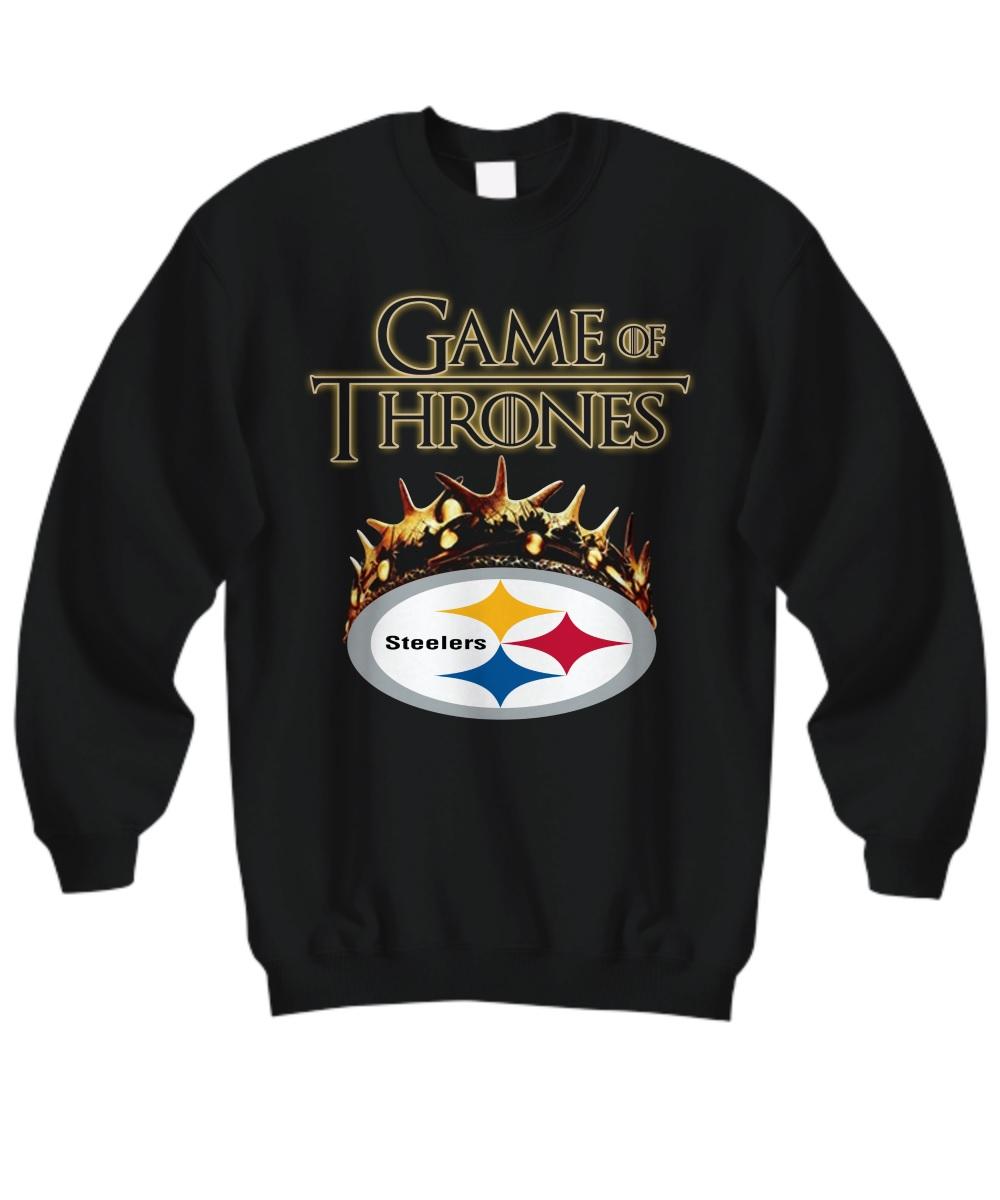 Game of thrones crown steelers sweatshirt