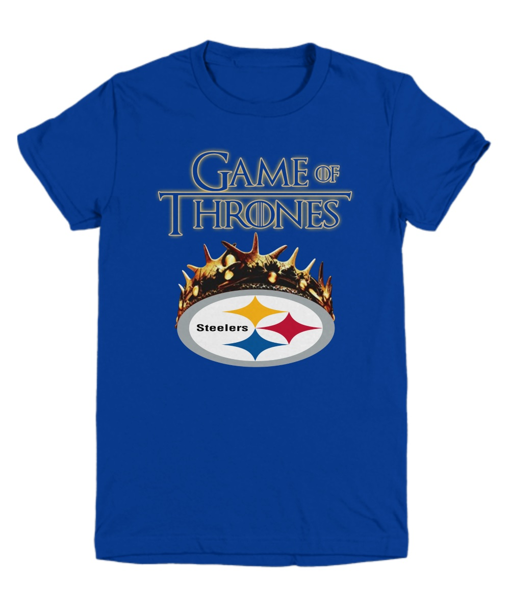 Game of thrones crown steelers youth tee