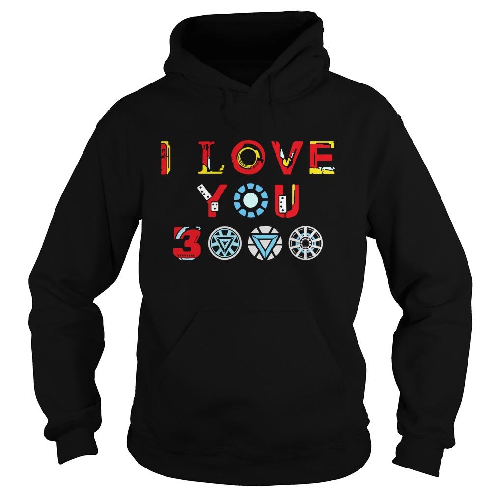 I love you 3000 times hoodie