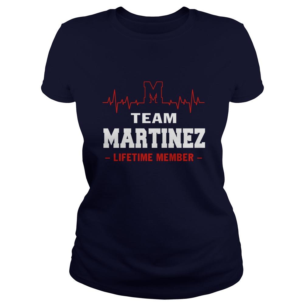 Team Martinez lifetime member lady shirt