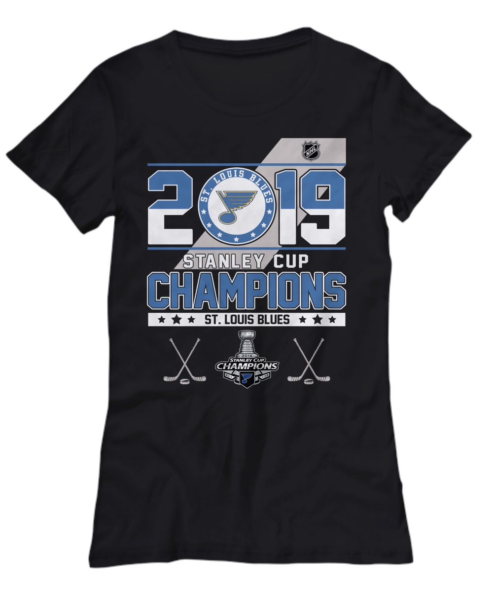 2019 Stanley cup champions St. Louis Blues lady shirt
