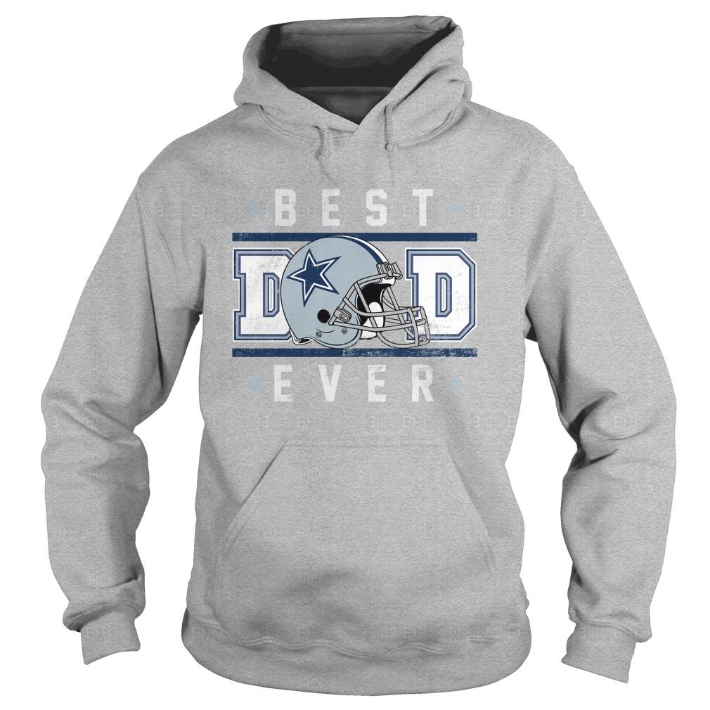 Dallas cowboy best dad ever hoodie