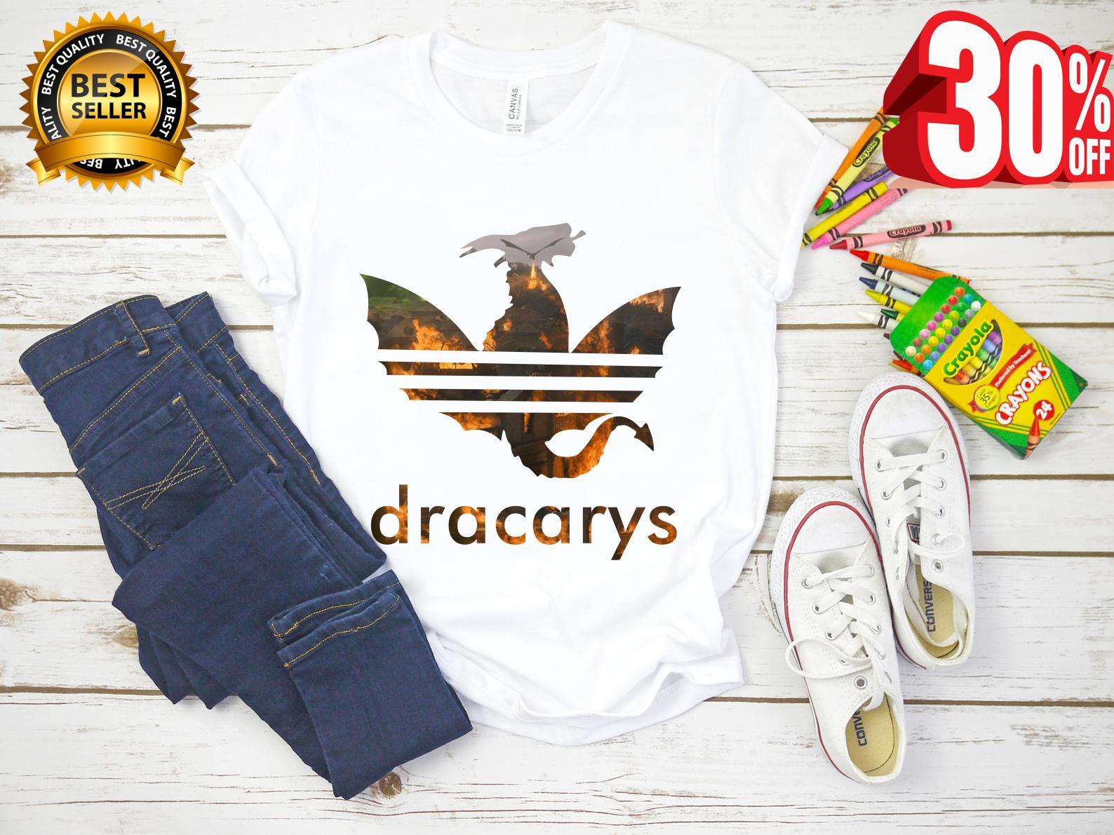 Dracarys adidas dragon Game Of Thrones shirt, hoodie, tank top