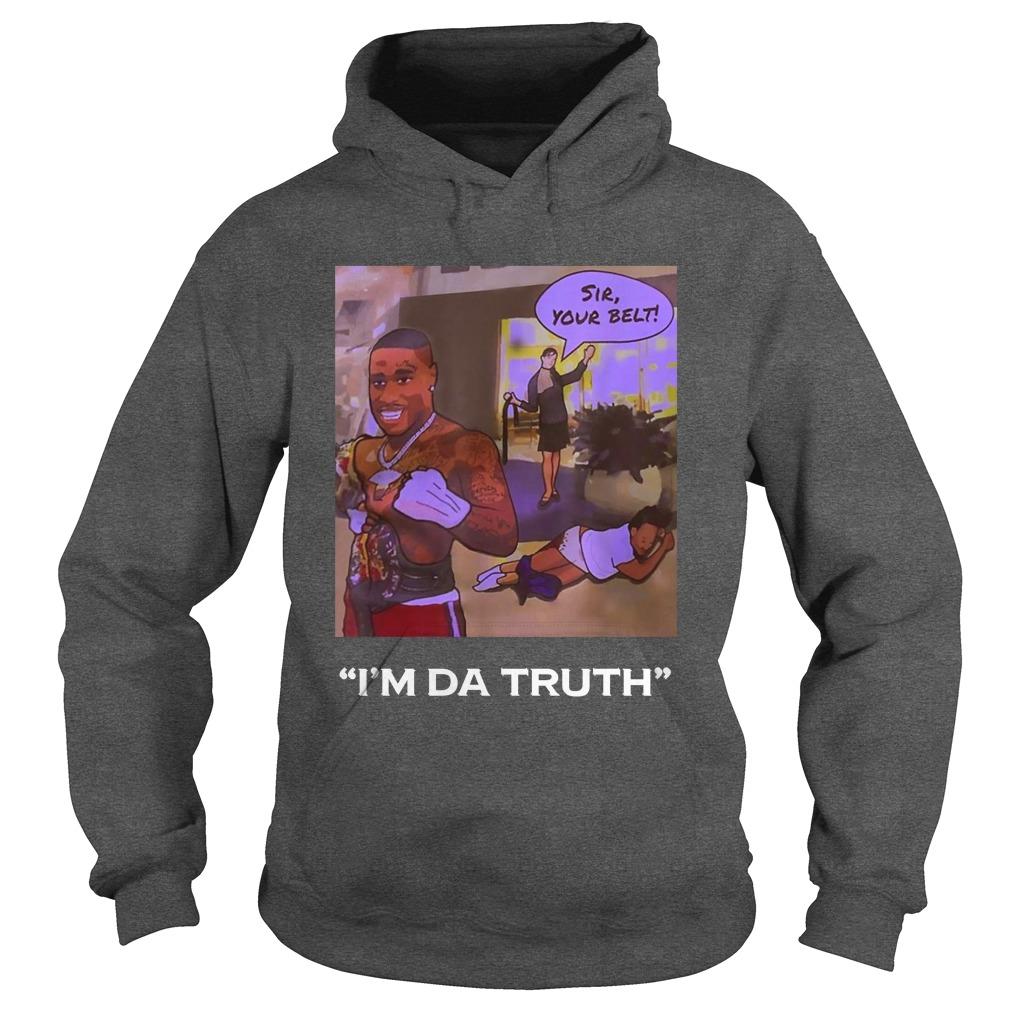 I'm Da Truth Da-Baby hoodie