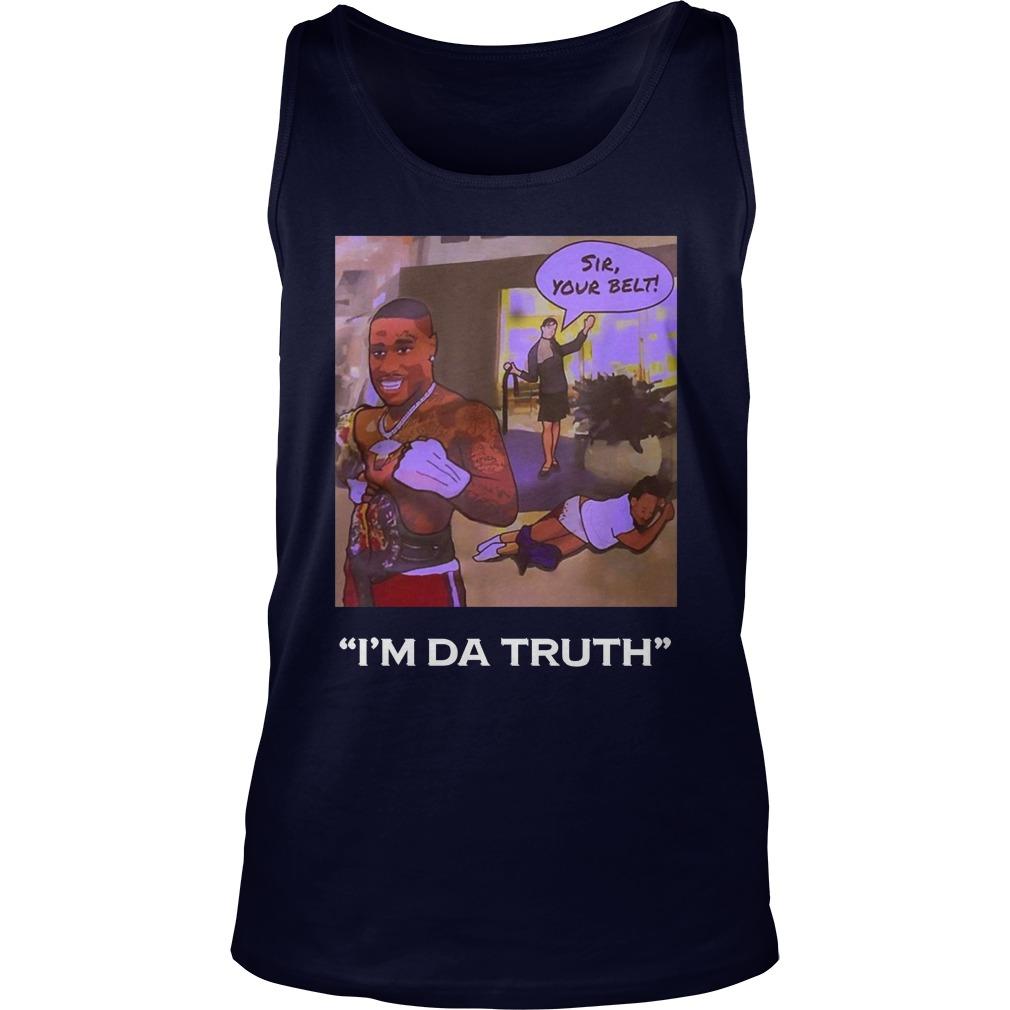 I'm Da Truth Da-Baby tank top