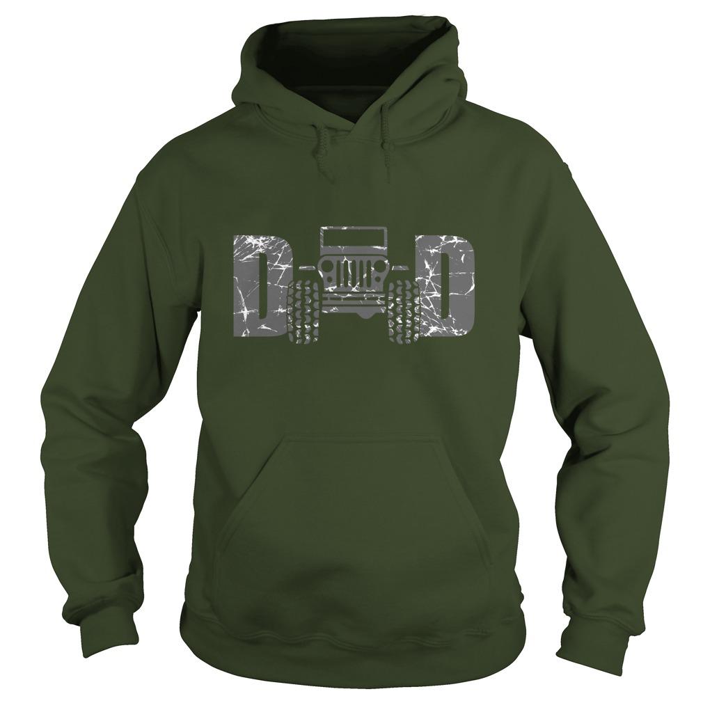 Jeep dad hoodie