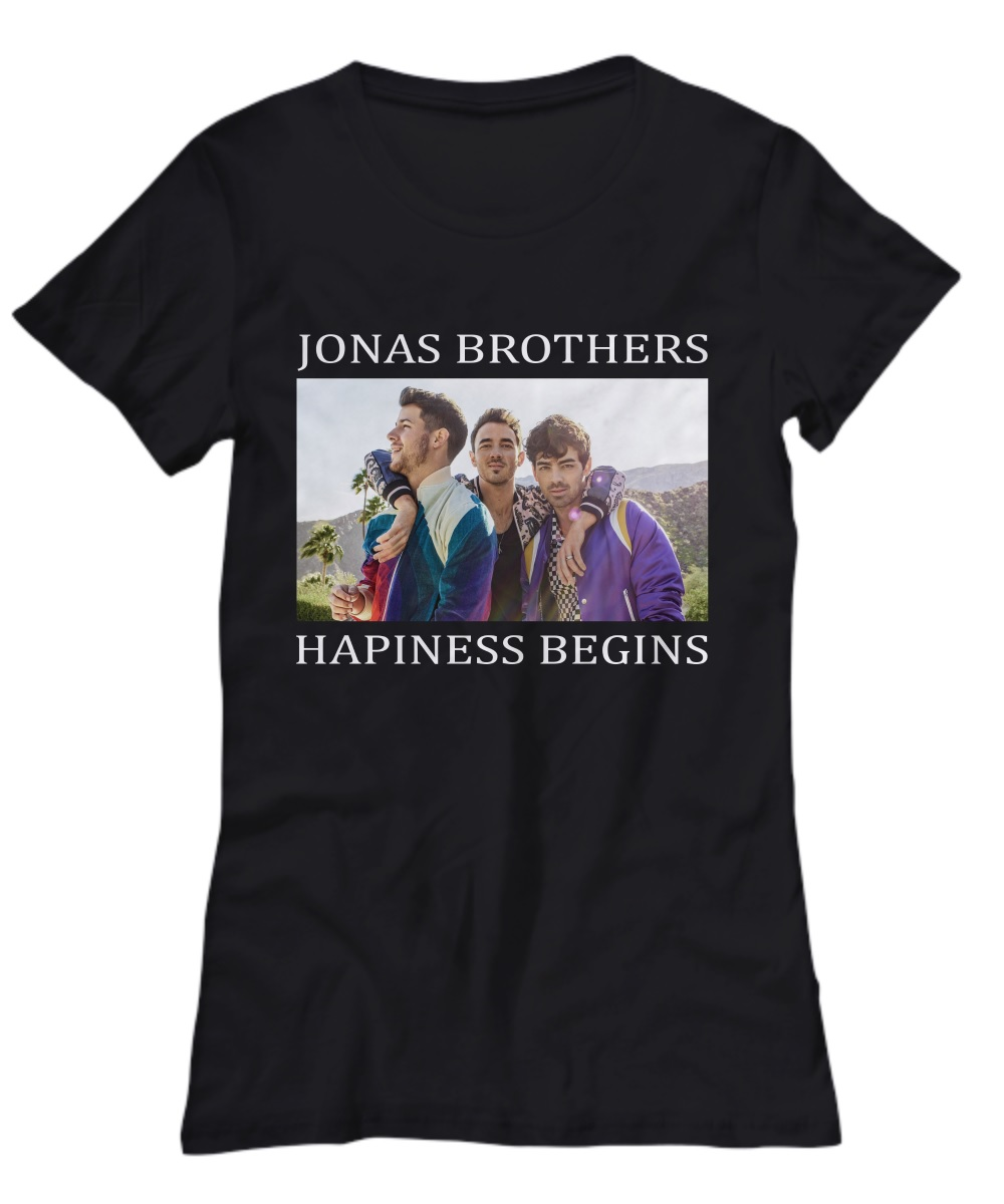 Jonas Brothers happiness begins tour lady shirt