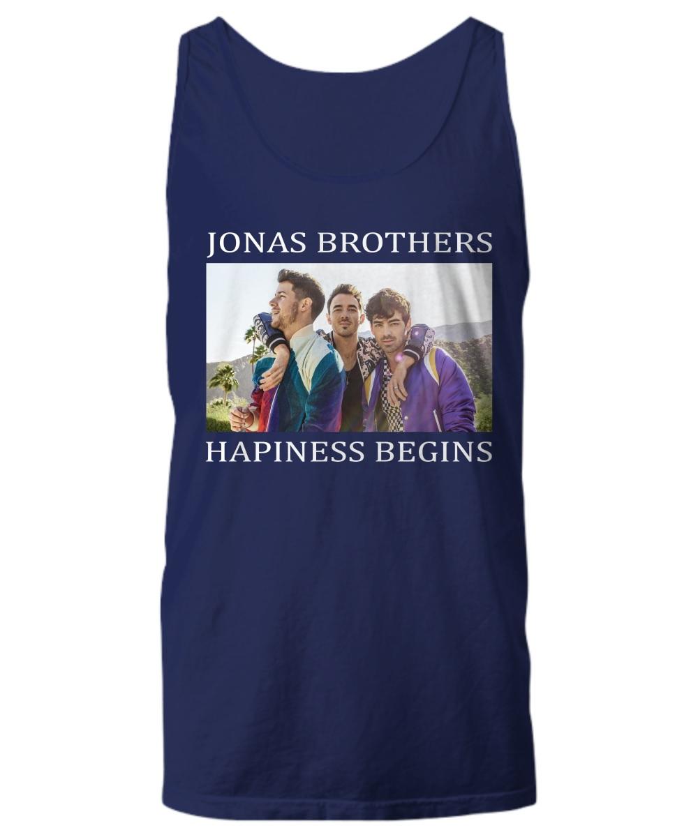 Jonas Brothers happiness begins tour tank top