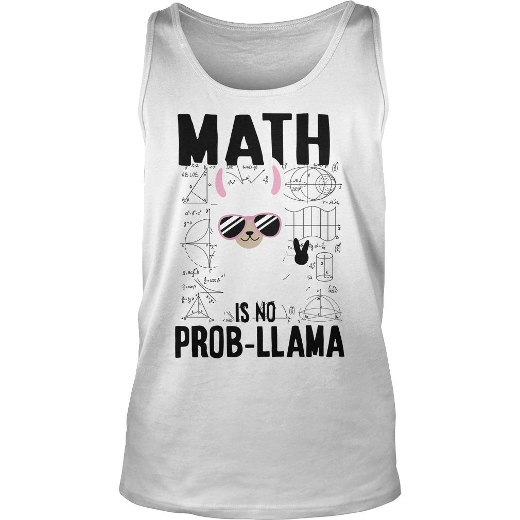 Math is no prob-llama tank top