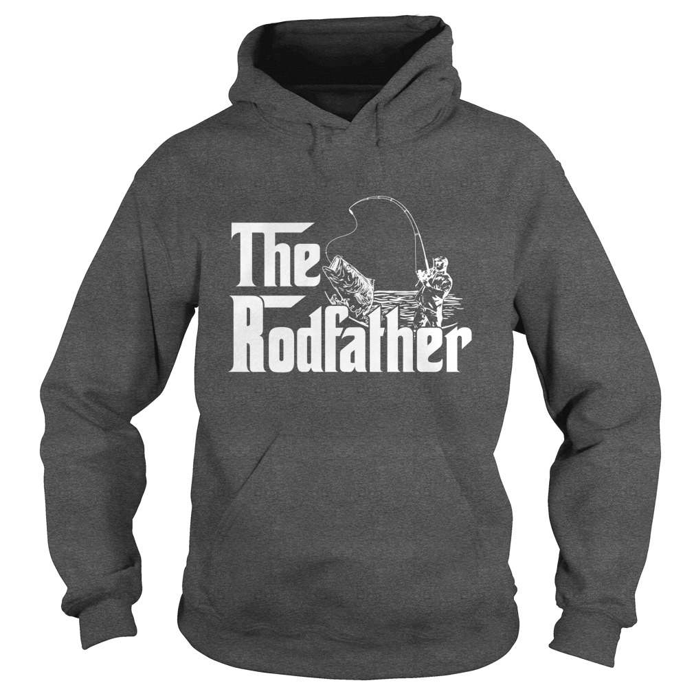 The rodfather fishing hoodie