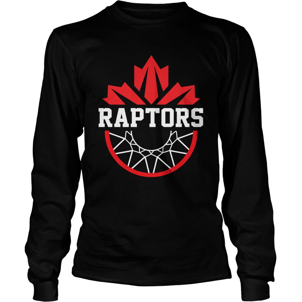 Toronto Raptors basketball longsleeve tee