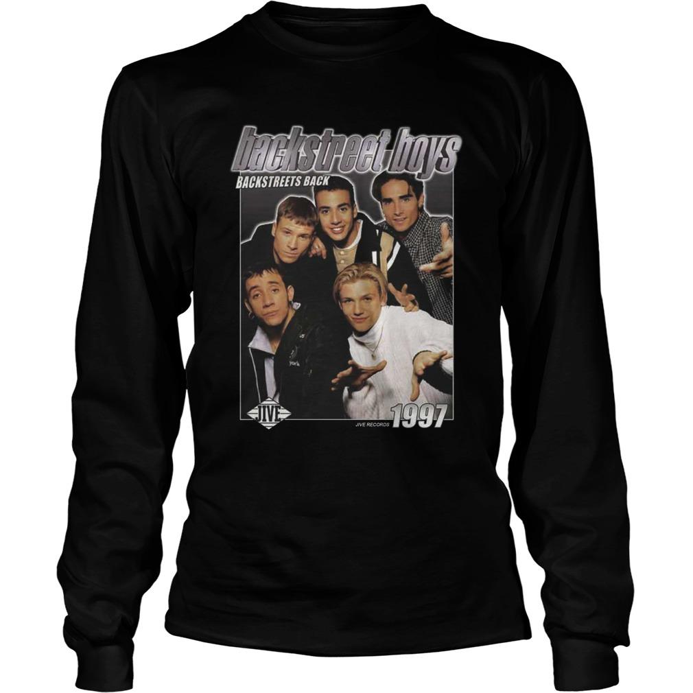 Backstreet Boys Backstreets Back 1997 longsleeve tee