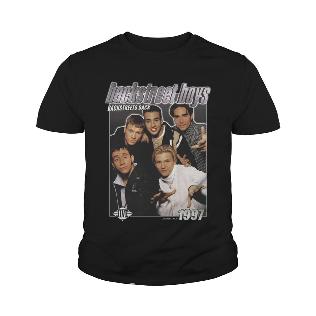 Backstreet Boys Backstreets Back 1997 youth tee