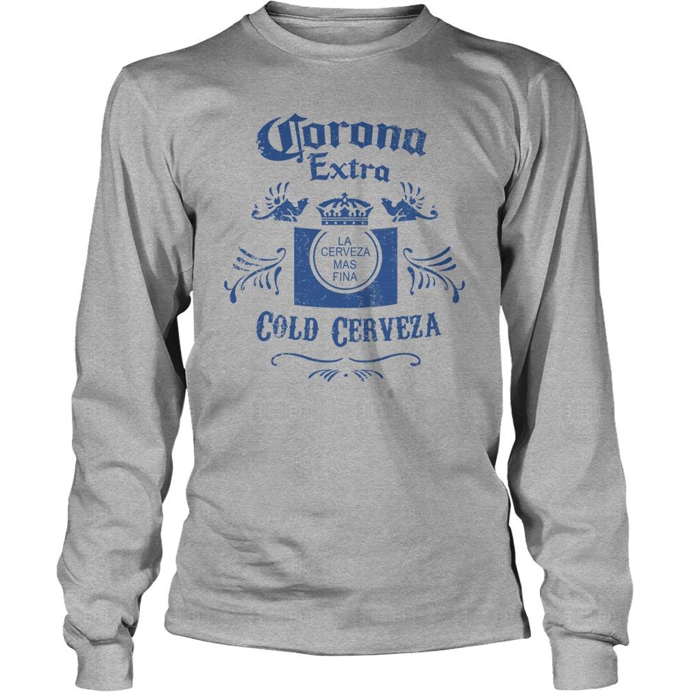 Corona Extra Cold Cerveza longsleeve tee