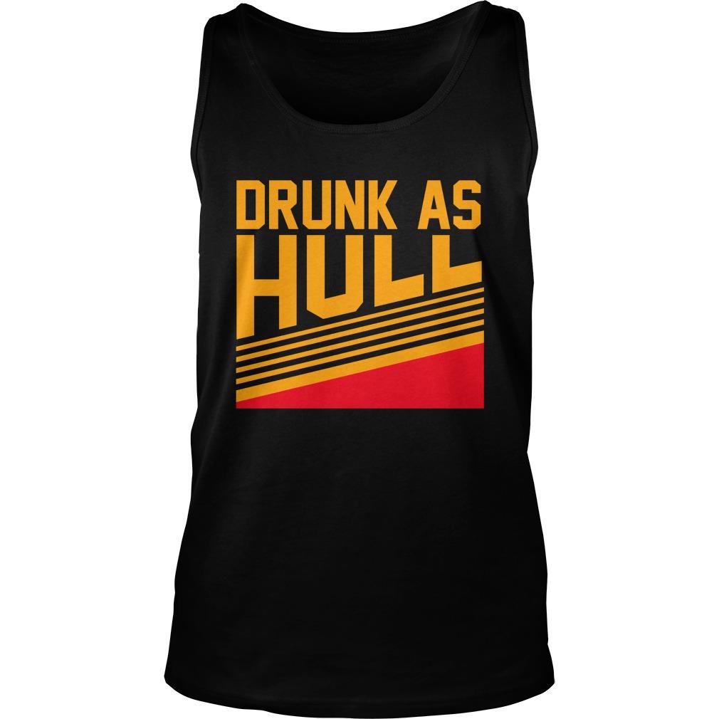Drunk as hull tank top